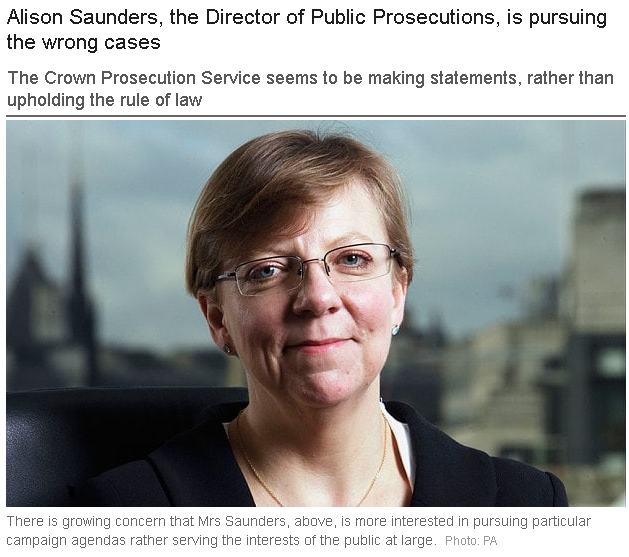 Crown Prosecution Service - CPS - unfit for purpose?